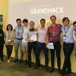 Sensor CDT Students win Deeptech Founders Prizes