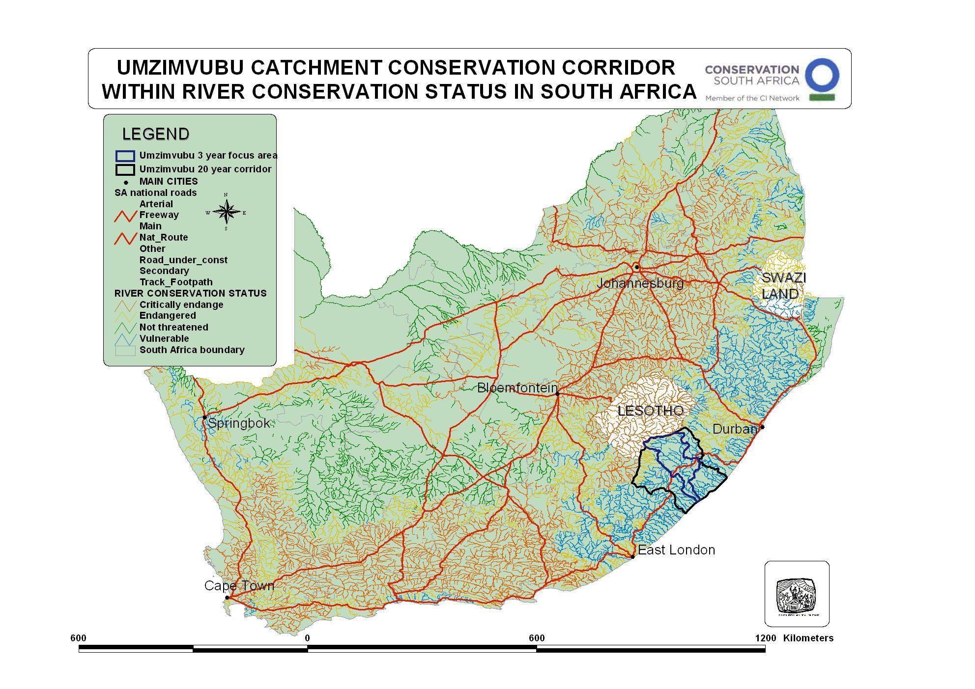 Umzimvubu Catchment Conservation Corridor