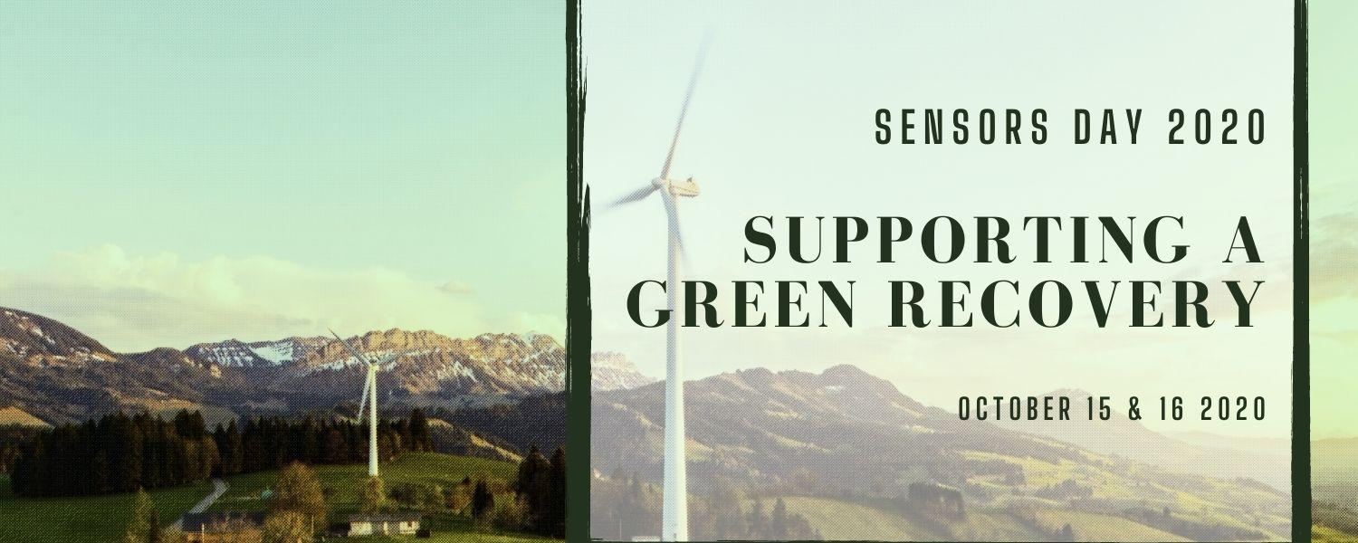 Sensors Day 2020 - Supporting a Green Recovery